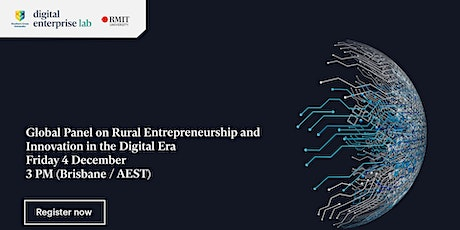 Global Panel on Rural Entrepreneurship and Innovation in the Digital Era tickets