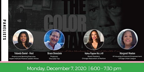 The Color Tax: Origins of the Modern-Day Racial Wealth Gap tickets