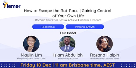 How to Escape the Rat-Race | Gaining Control of Your Own Life tickets