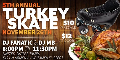 Thanksgiving Soul Roll  at United Skates Tampa tickets