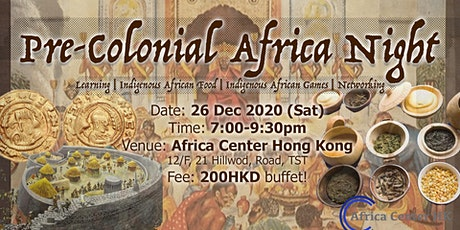 Pre-colonial Africa Night tickets