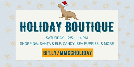 Holiday Boutique At The Marine Mammal Care Center tickets