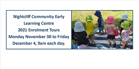 Nightcliff Community ELC Enrolment Tours for 2021 tickets