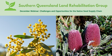 SQLRG Webinar: Challenges & Opportunities for the Native Seed Supply Chain tickets