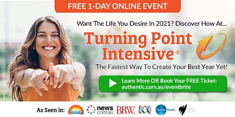 "Free 1-Day Online Event: ""Turning Point Intensive"" – Jan 12 tickets"