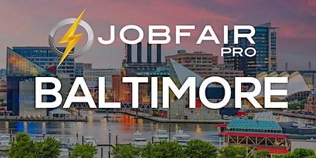 Baltimore Virtual Job Fair April 22, 2021 tickets