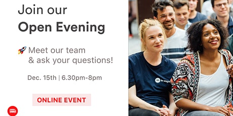 Open Evening: Discover Le Wagon's Bootcamp tickets