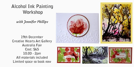 Alcohol Ink Painting  Workshop tickets