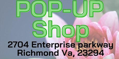 FREE POP UP SHOP tickets