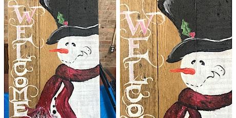 Fitzgerald Paint&Sip Snowman 12/10 tickets