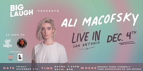 Ali Macofsky: Live In San Antonio tickets