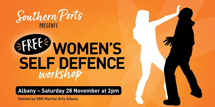 FREE Southern Ports Women's Self Defence Workshop - Albany image
