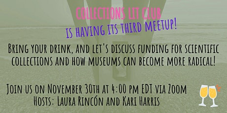 Collections Lit Club- Third meetup tickets