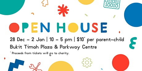 Saturday Kids Open House, [Ages 5-14] @ Bukit Timah tickets