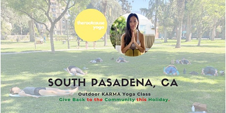 Outdoor Yoga - Karma Yoga - Vinyasa and Meditation by Kathy Chu tickets