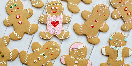 Decorate your own Gingerbread Cookies tickets