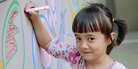 Big Voices: Children's Picture Diaries, Portrait Workshop tickets