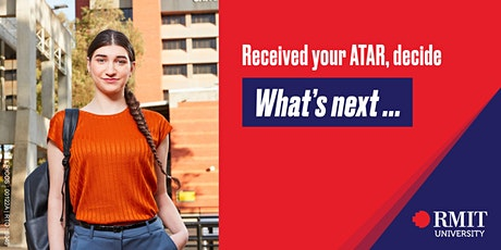 Received your ATAR, decide what's next? tickets