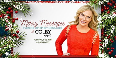 Merry Messages-Evening of Spirit Messages with Colby Rebel