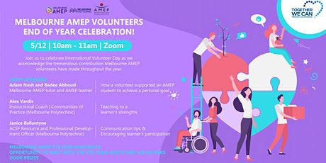 Melbourne AMEP - End of the year Celebration tickets