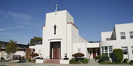 St. John Outdoor Schoolyard Mass