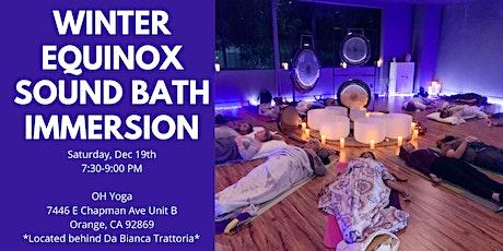 Winter Equinox Sound Bath Immersion (Central OC) tickets