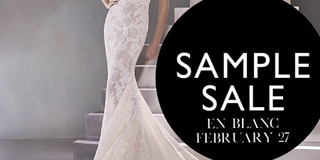 En Blanc Sample Sale tickets