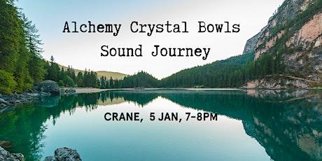 Alchemy Crystal Bowls Sound Journey tickets