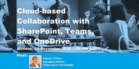 Cloud-based collaboration with Sharepoint, Teams and Onedrive tickets