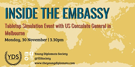 Inside the Embassy: Tabletop Simulation with U.S. Consulate General tickets