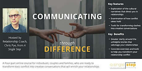 Communicating Through Difference (4-Part Lunchtime Course) tickets