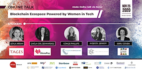 Blockchain Ecospace powered by Women in Tech tickets