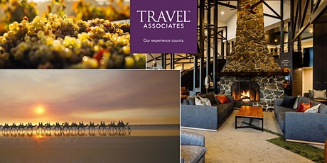 South Australia , Tasmania & New Zealand with Travel Associates and Scenic tickets