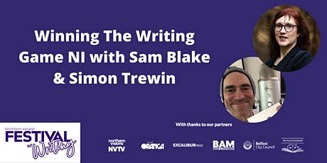 Winning The Writing Game NI with Sam Blake & Simon Trewin tickets