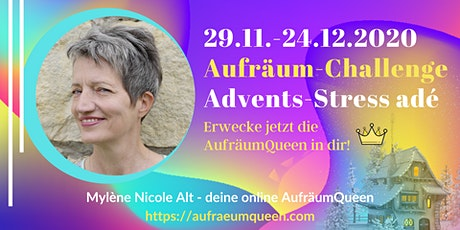 "Aufräum-Challenge ""Advents-Stress adé"" Tickets"