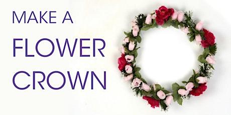 Make A Flower Crown @ Eden Library (Youth Workshop) tickets