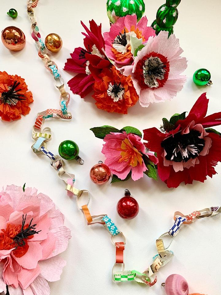 FRIDA KAHLO PAPER FLOWERS image