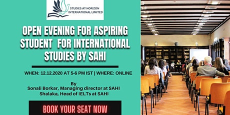 [Live Session] Open Evening for Aspiring Student  for International Studies tickets