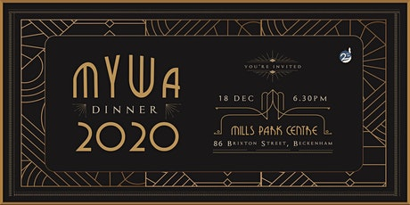 MYWA Dinner 2020 tickets