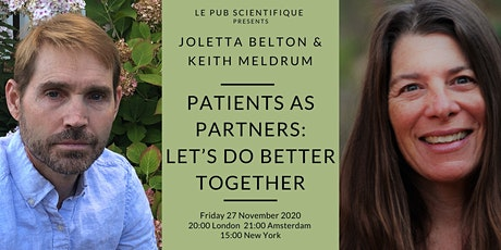 Patients as partners; let's do better together tickets