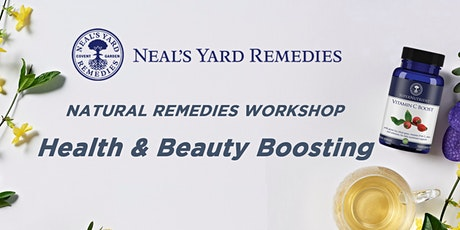 Natural Remedies Workshop: Health & Beauty Boosting (English Only) tickets