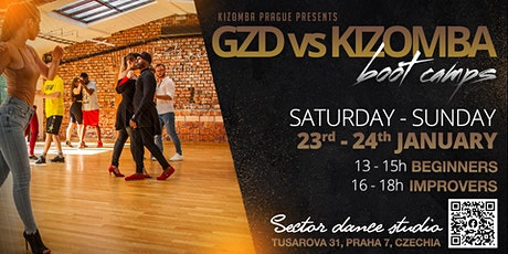 Ghetto Zouk Dance vs Kizomba dance boot camp for beginners  & improvers tickets