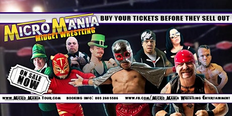 MicroMania Midget Wrestling: Mount Pleasant,Texas tickets