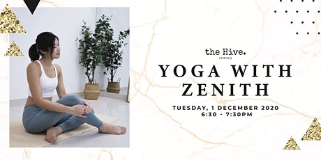 Yoga with Zenith tickets