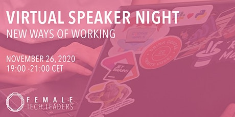 FTL Remote Speaker Night - New Ways of Working tickets