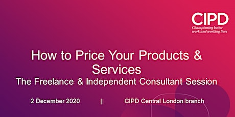 How to Price Your Products and Services tickets