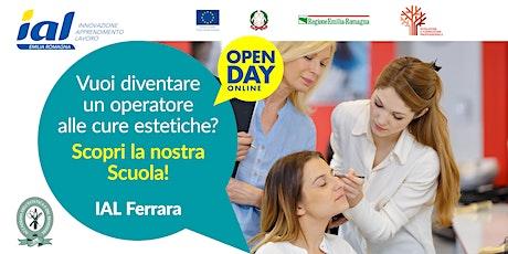 Open Day online Accademia dell'Estetica e del Benessere di Ferrara biglietti
