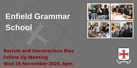 Enfield Grammar School - Racism and Unconscious Bias in Secondary Schools tickets