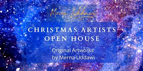 Merna Liddawi- Christmas Artists Open House -Private Bookable Visits 5&6/12 tickets
