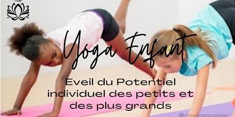 Atelier Yoga Enfant billets